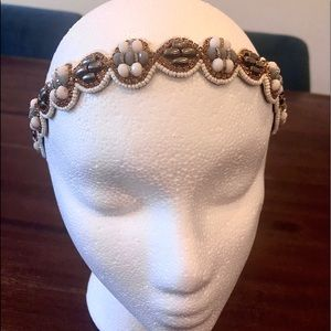 Anthropologie Beaded Headband - Only Worn Once!
